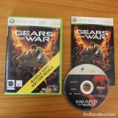 Videojuegos y Consolas: GEARS OF WAR -JUEGO XBOX 360- EPIC GAMES MICROSOFT XBOX360. Lote 191136677