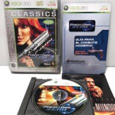 Videojuegos y Consolas: PERFECT DARK ZERO XBOX 360. Lote 191251407