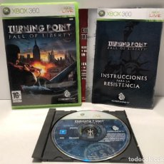 Videojuegos y Consolas: TURNING POINT FALL OF LIBERTY XBOX 360. Lote 191251522