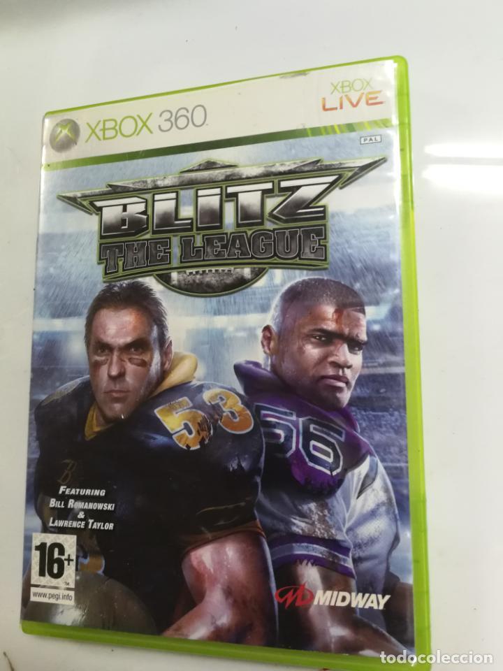 RARO Y BUSCADO JUEGO XBOX 360 BLITZ THE LEAGUE, FUNCIONANDO (Juguetes - Videojuegos y Consolas - Microsoft - Xbox 360)