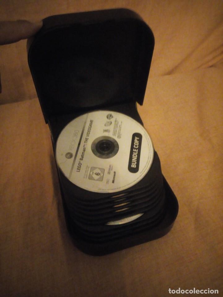 X BOX 360,CD BOX CON 7 JUEGOS, STAR WARS,SUPER MAN,LEGO BATMAN,CALL OF DUTY,FABLE IL,KAMEO,SMACK (Juguetes - Videojuegos y Consolas - Microsoft - Xbox 360)