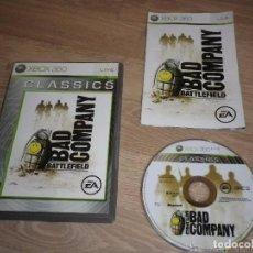 Videojuegos y Consolas: XBOX360 JUEGO BATTLEFIELD BAD COMPANY CLASSICS. Lote 193438051