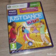 Videojuegos y Consolas: XBOX360 JUEGO JUST DANCE KIDS NUEVO VERSIÓN ESPAÑOLA. Lote 193438288