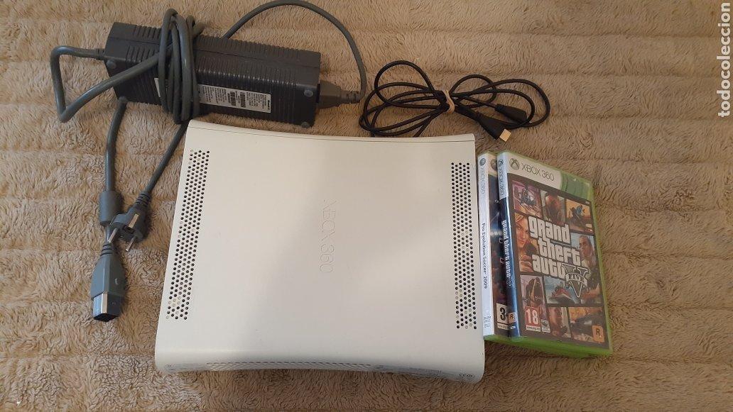 Videojuegos y Consolas: Xbox 360 Regalo 2 juegos y HDMI. Gta V y pes2009 - Foto 4 - 193812046