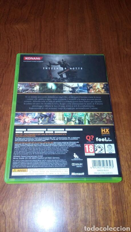 Videojuegos y Consolas: N3 II NINETY-NINE NIGHTS XBOX 360 COMPLETO PAL ITA - Foto 2 - 194121468