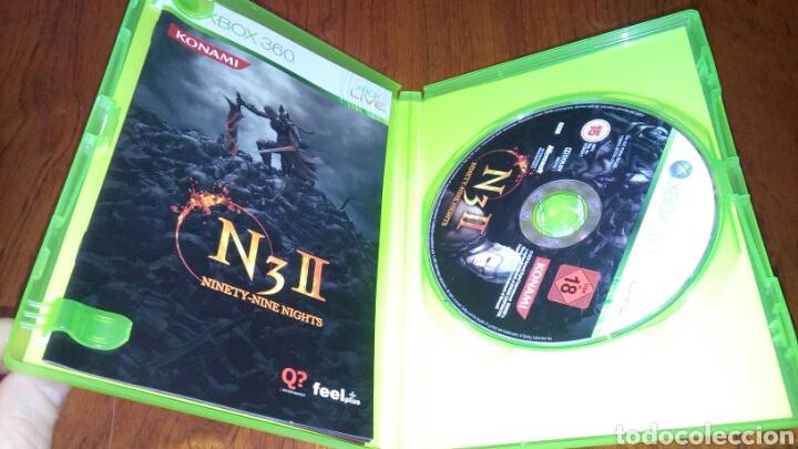 Videojuegos y Consolas: N3 II NINETY-NINE NIGHTS XBOX 360 COMPLETO PAL ITA - Foto 4 - 194121468