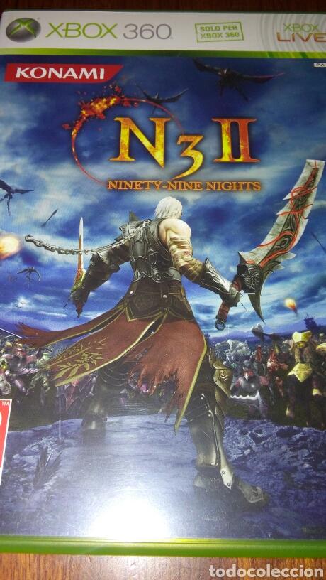 N3 II NINETY-NINE NIGHTS XBOX 360 COMPLETO PAL ITA (Juguetes - Videojuegos y Consolas - Microsoft - Xbox 360)