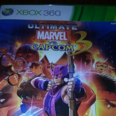 Videojuegos y Consolas: XBOX 360 ULTIMATE MARVEL VS. CAPCOM 3 COMPLETO PAL UK. Lote 194142910