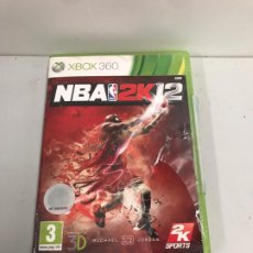 Videojuegos y Consolas: VIDEOJUEGO XBOX360 NBA 2K 12. Lote 194202116
