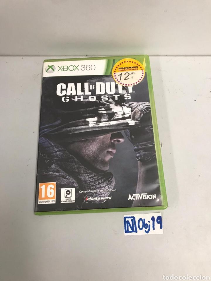 VIDEOJUEGO XBOX 360 CALLE OF DUTY (Juguetes - Videojuegos y Consolas - Microsoft - Xbox 360)