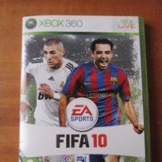 Videojuegos y Consolas: FIFA 10 (XBOX 360). Lote 194254063