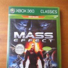 Videojuegos y Consolas: MASS EFFECT (+ DISCO EXTRAS) (XBOX 360). Lote 194254257