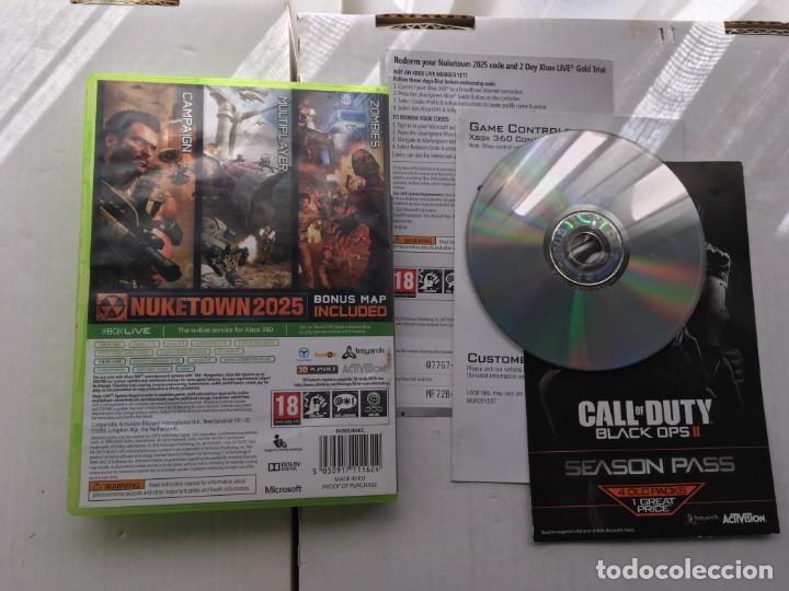 Videojuegos y Consolas: CALL OF DUTY BLACK OPS II 2 MICROSOFT XBOX 360 X360 KREATEN - Foto 2 - 194915383