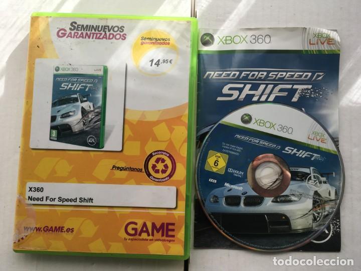 NEED FOR SPEED SHIFT MICROSOFT XBOX 360 X360 KREATEN (Juguetes - Videojuegos y Consolas - Microsoft - Xbox 360)