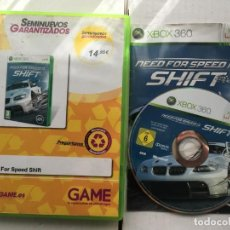 Videojuegos y Consolas: NEED FOR SPEED SHIFT MICROSOFT XBOX 360 X360 KREATEN. Lote 194915491