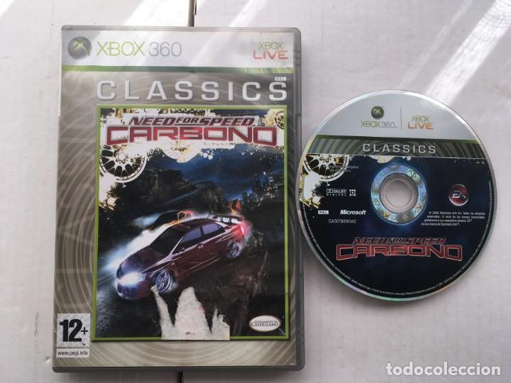 NEED FOR SPEED CARBONO MICROSOFT XBOX 360 X360 KREATEN (Juguetes - Videojuegos y Consolas - Microsoft - Xbox 360)