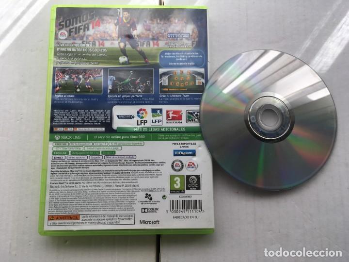 Videojuegos y Consolas: FIFA 14 MICROSOFT XBOX 360 X360 KREATEN - Foto 2 - 194915711
