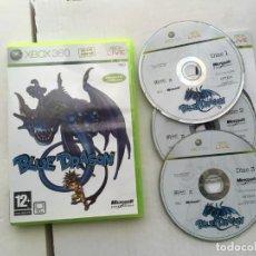 Videojuegos y Consolas: BLUE DRAGON X360 X-BOX MICROSOFT KREATEN. Lote 194969796