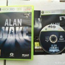 Videojuegos y Consolas: ALAN WAKE X360 X-BOX MICROSOFT KREATEN. Lote 194969906