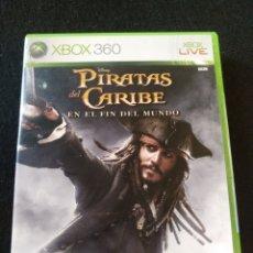 Videojuegos y Consolas: LOS PIRATAS DEL CARIBE XBOX 360. SIN ABRIR. Lote 195082026