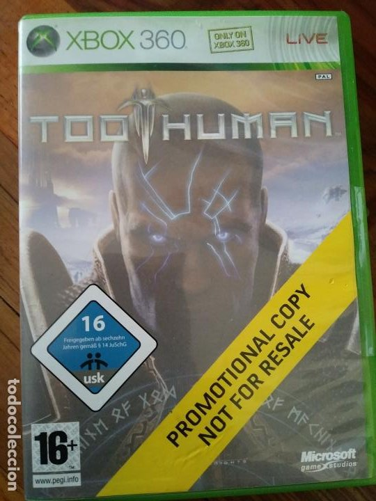 TOO HUMAN JUEGO PARA XBOX 360 (Juguetes - Videojuegos y Consolas - Microsoft - Xbox 360)