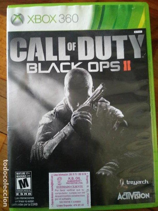 CALL OF DUTY BLACK OPS II 2 MICROSOFT XBOX 360 X360 (Juguetes - Videojuegos y Consolas - Microsoft - Xbox 360)