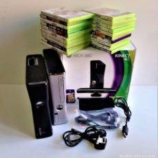 Videojuegos y Consolas: MEGA LOTE DOS CONSOLAS XBOX 360 + 20 JUEGOS + MANDO. Lote 195423676