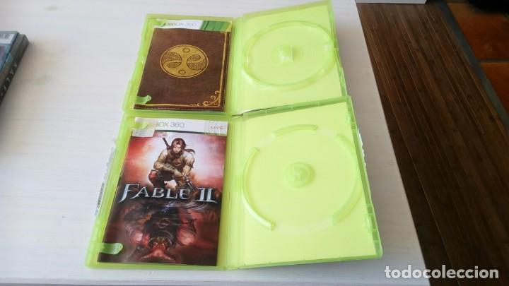 Videojuegos y Consolas: caja e instrucciones fable II y fable III xbox 360 no contiene el juego - Foto 2 - 195631158