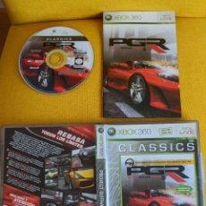 Videojuegos y Consolas: JUEGO XBOX 360 PROJECT GOTHAM RACING 3. Lote 197488940