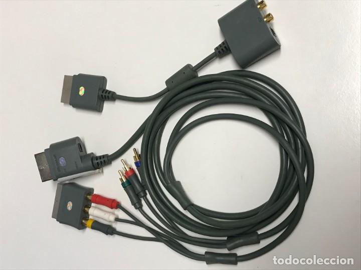 JUEGO DE CABLES Y CONECTORES XBOX 360 (Juguetes - Videojuegos y Consolas - Microsoft - Xbox 360)