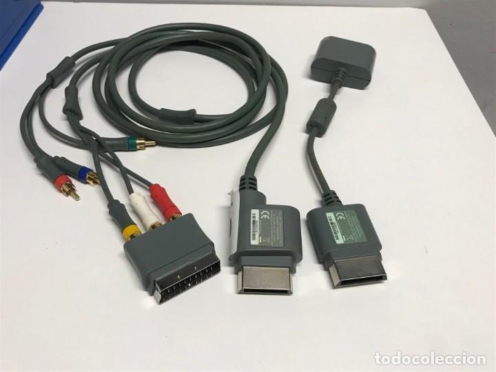 Videojuegos y Consolas: JUEGO DE CABLES Y CONECTORES XBOX 360 - Foto 4 - 198862156