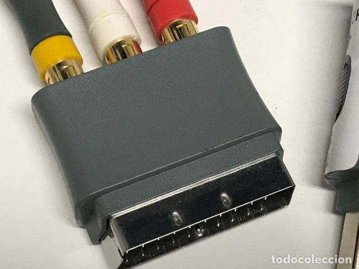 Videojuegos y Consolas: JUEGO DE CABLES Y CONECTORES XBOX 360 - Foto 6 - 198862156