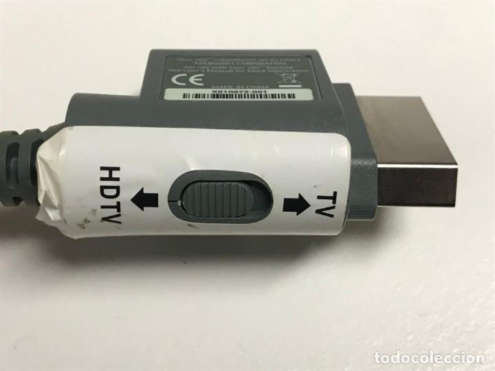 Videojuegos y Consolas: JUEGO DE CABLES Y CONECTORES XBOX 360 - Foto 10 - 198862156