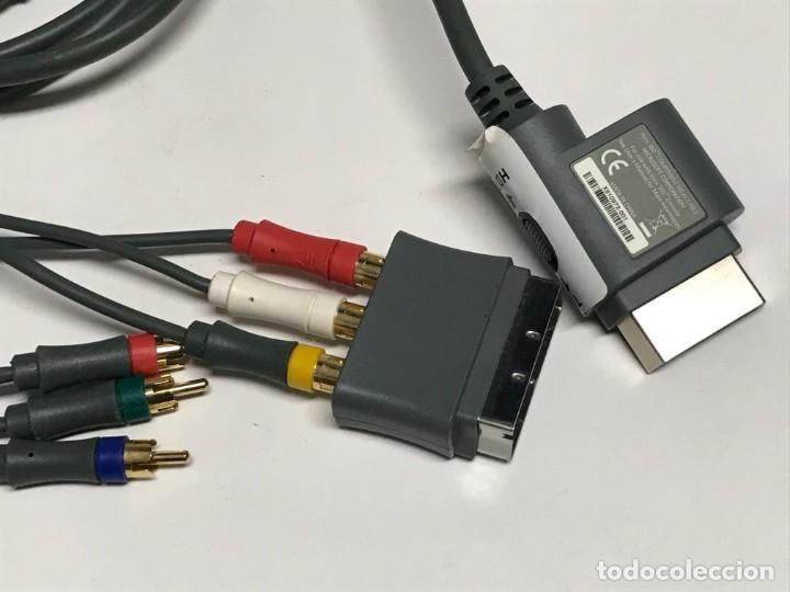 Videojuegos y Consolas: JUEGO DE CABLES Y CONECTORES XBOX 360 - Foto 11 - 198862156