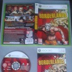 Videojuegos y Consolas: JUEGO MICROSOFT XBOX 360 BORDERLANDS COMPLETO CAJA Y MANUAL PAL R10470. Lote 199197630