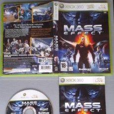 Videojuegos y Consolas: JUEGO MICROSOFT XBOX 360 MASS EFFECT COMPLETO CAJA Y MANUAL PAL R10472. Lote 199197730