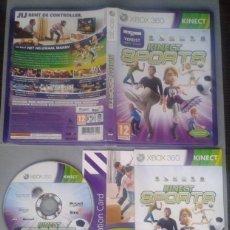Videojuegos y Consolas: JUEGO MICROSOFT XBOX 360 KINECT SPORTS COMPLETO CAJA Y MANUAL PAL R10473. Lote 199197776