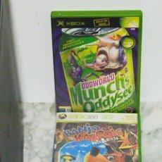 Videojuegos y Consolas: XBOX360 CABLES MANDO Y DOS JUEGOS 120GB HDD. Lote 199338052