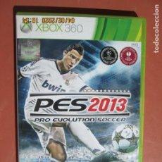Videojuegos y Consolas: PES 2013 PRO EVOLUTION SOCCER KONAMI XBOX 360 . Lote 199774531