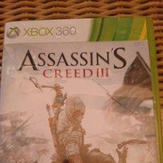 Videojuegos y Consolas: ASSASSINS CREED III XBOX 360 2 DISCOS. Lote 203382723