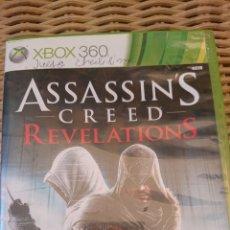Videojuegos y Consolas: ASSASSINS CREED REVELATIONS XBOX 360. Lote 203383021