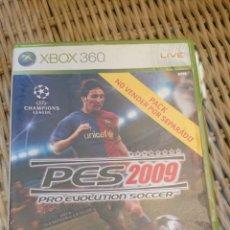 Videojuegos y Consolas: PES 2009 PRO EVOLUTION SOCCER XBOX 360. Lote 203386383