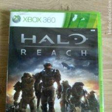 Videojuegos y Consolas: XBOX360 JUEGO HALO REACH NUEVO. Lote 203613782