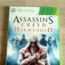 Videojuegos y Consolas: XBOX360 JUEGO ASSASSI'S CREED LA HERMANDAD NUEVO. Lote 203619592