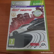 Videojogos e Consolas: NEED FOR SPEED MOST WANTED XBOX 360 SIN MANUAL. Lote 204357666