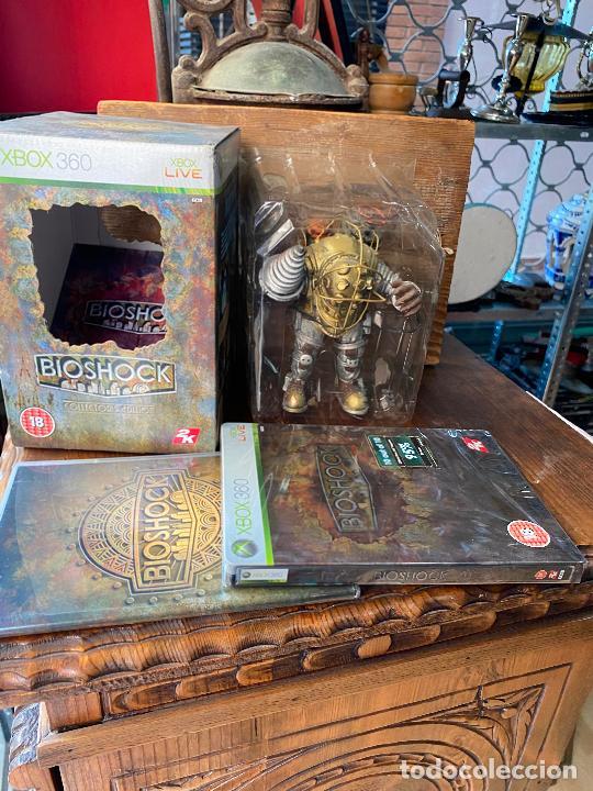BIOSHOCK EDICION ESPECIAL JUEGO Y FIGURA BIG DADDY (Juguetes - Videojuegos y Consolas - Microsoft - Xbox 360)