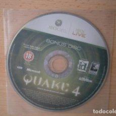 Videojuegos y Consolas: BONUS DISC QUAKE 4 XBOX 360. Lote 205241282