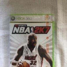 Videojuegos y Consolas: NBA 2K7 MICROSOFT XBOX 360 XBOX ONE VERSIONE PAL UK NUEVO PRECINTADO. Lote 205362160