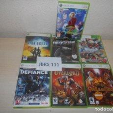 Videojuegos y Consolas: XBOX360 - PACK DE 6 JUEGOS VARIADOS - PAL ESPAÑOLES. Lote 205698432