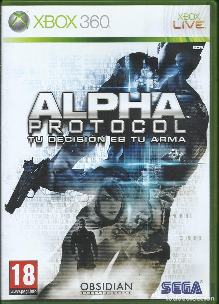 ALPHA PROTOCOL (INLC. MANUEL EN ESPAÑOL, IDIOMA INGLES CON SUB. ESPAÑOL) (Juguetes - Videojuegos y Consolas - Microsoft - Xbox 360)